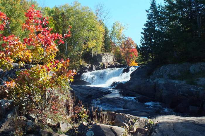 Marshes Falls on the Oxtongue River