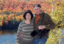 jean and bob hilscher, painting the wilderness of the oxtongue, ontario, truenorthfilmproductions