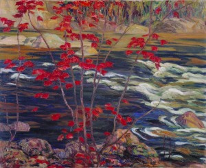 """Red Maple"" - by A.Y. Jackson"